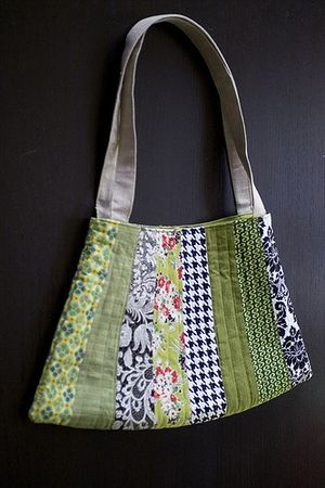 patch work bag