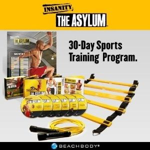 Turn up the dial on your Insanity workout with Insanity: The Asylum – a 30 Day Sports training. Doing this after my round 2 of insanity.