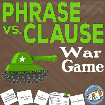 Phrase vs. Clause War Game