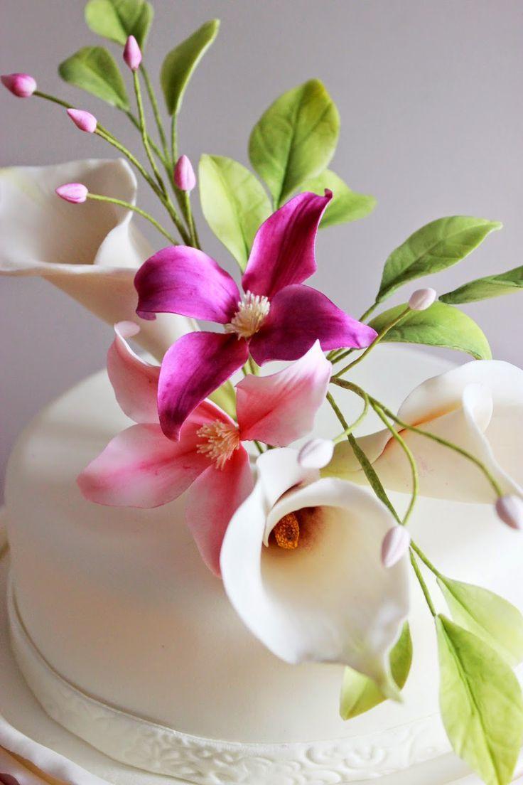 Gumpaste flowers fondant pinterest sugar flowers sugaring and gumpaste flowers izmirmasajfo