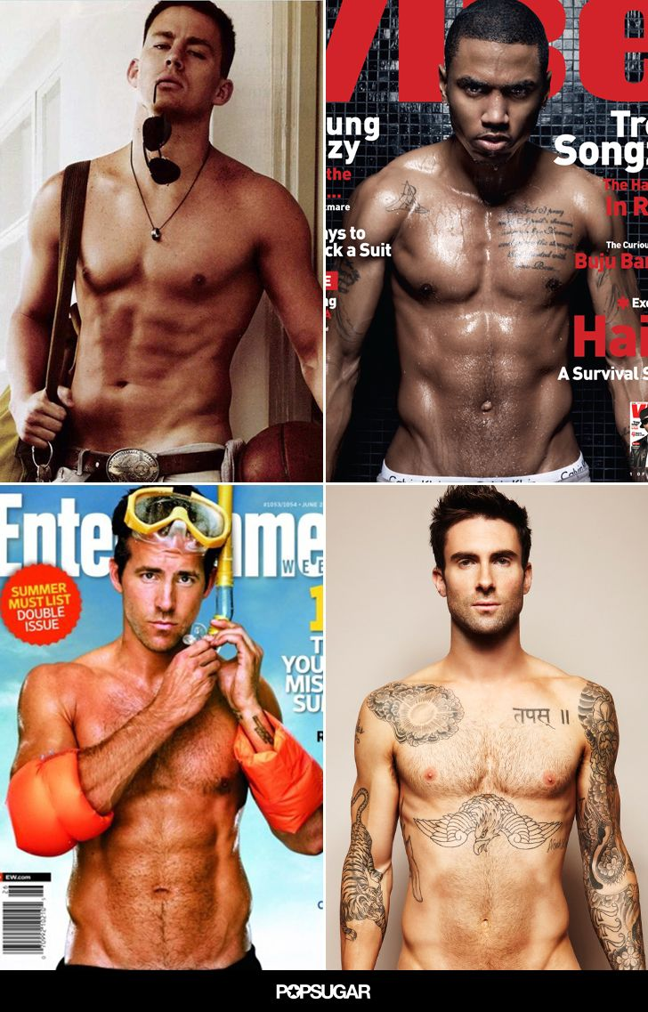 20 Hot Magazine Moments That Made You Love Those V-Line Things