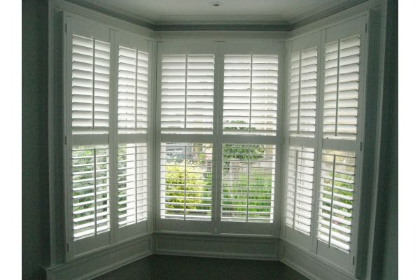 Bay Window Shutters!