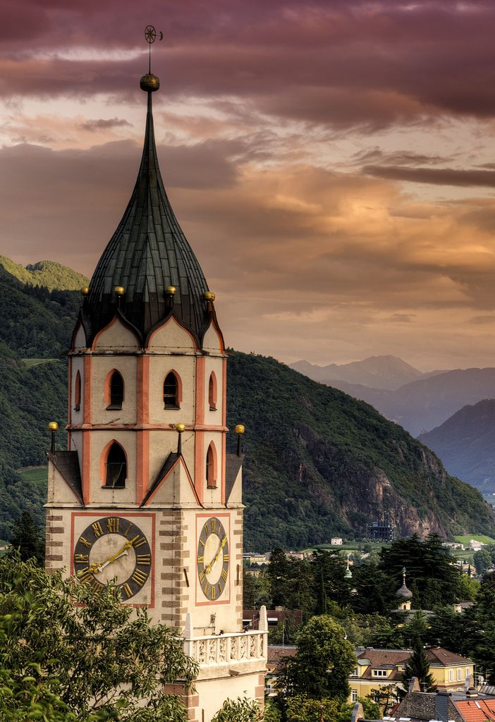 Merano, province of South Tyrol , region Trentino-Alto Adige, Italy.  I want to go here, probably because it's got an awesome song written about it in   Chess.
