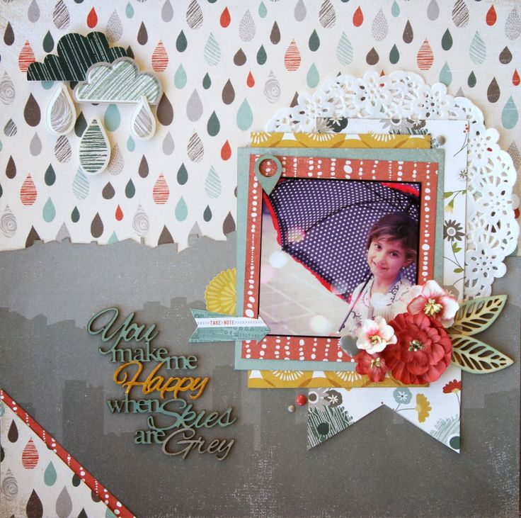 All About Scrapbooks - Basic Grey Mon Ami - by Fiona Johnstone
