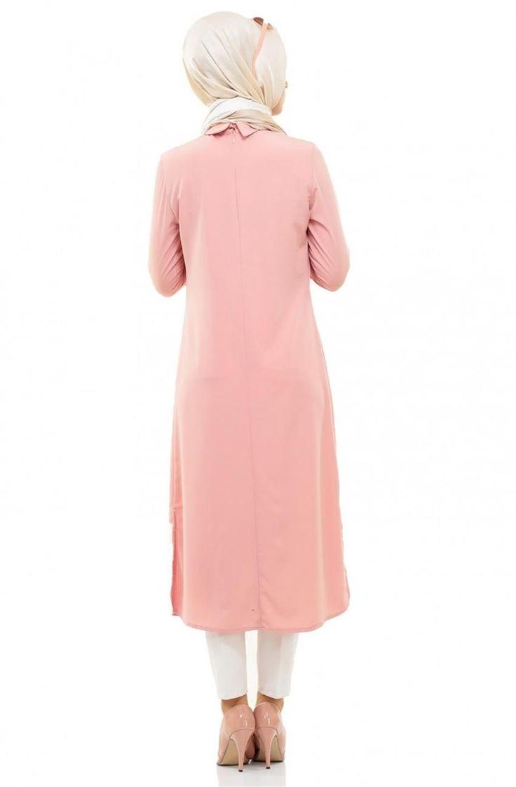 Burcum BCC Burcum BCC Tunik-Pembe 9252-42 Tesettür bayan giyimde elbise, ferace, eşarp, şal, haşema ve pardesü gibi tesettür giyime dair ürünlerin en yeni model