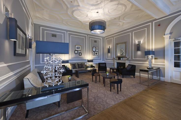 The Roxburghe Hotel, Edinburgh, Georgian Building, Grey interior, Stylish Interior, Occa Design, Interior Design, Hotel Design
