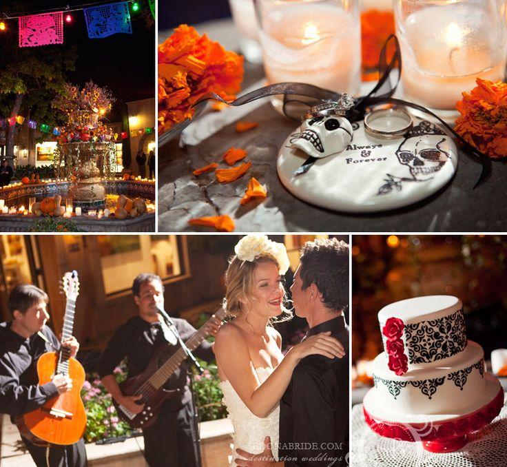 Dia De Los Muertos Wedding Theme Ideas: 34 Best Receptions At Tlaquepaque Images On Pinterest
