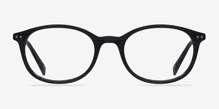 Get around Black Wood Texture Eyeglasses from EyeBuyDirect. Exceptional style, quality, and price with these glasses. This frame is a great addition to any collection.