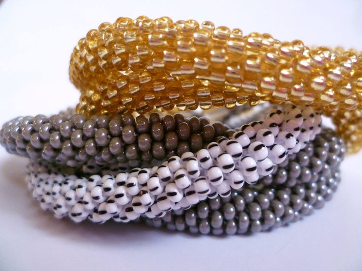 Bead crochet ropes