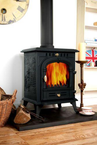 Coseyfire 330 Woodburning Stove Stoves Multi-fuel 6-7kw Woodburner Log Burner