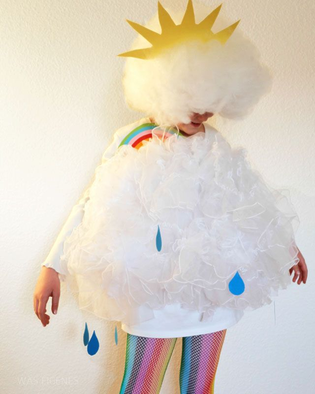 DIY Wolkenkostüm | Karneval | nähen & Selbermachen | was eigenes DIY Blog