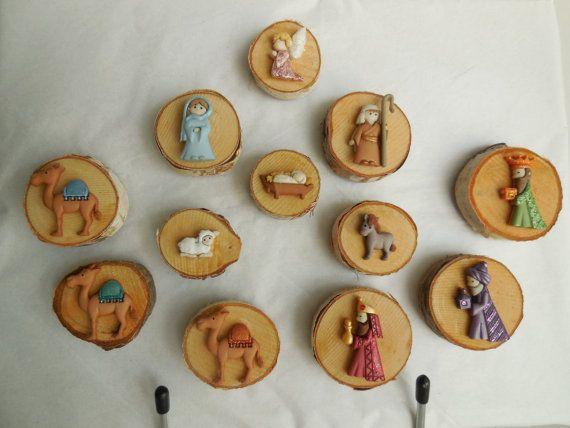 L'Atelier d'Anduze: la nativité en magnets