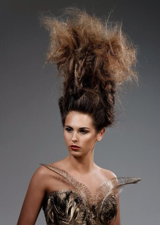 Created by Steevie-Lou Brouwer #urbannative #wella #trendvision #trendvision2014 #tree #beautiful #hair #hairstyle #competition #photoshoot #makeup #natural #brunette #nature #bighair #texture #fluffy #longhair #styling #iwantthathair