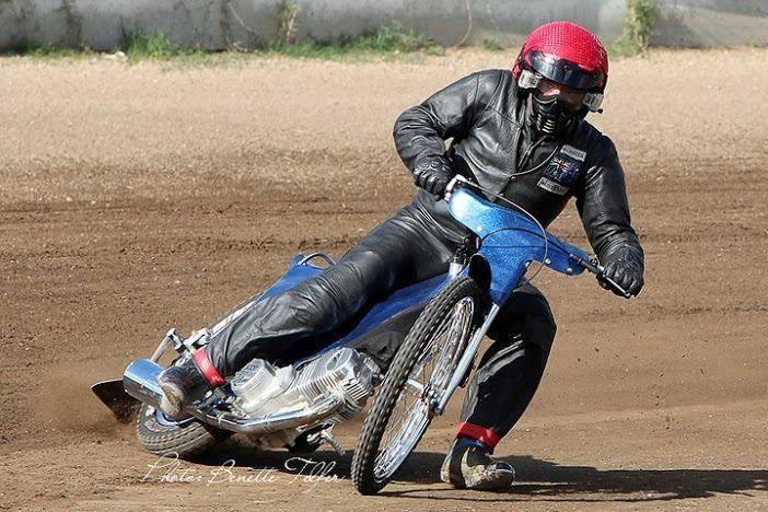 Scott Commins at Kurri Kurri NSW speedway  track 2011.