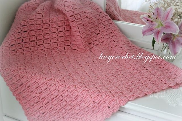 With one simple color, you'll crochet an easy crochet baby blanket full of texture. Description from pinterest.com. I searched for this on bing.com/images