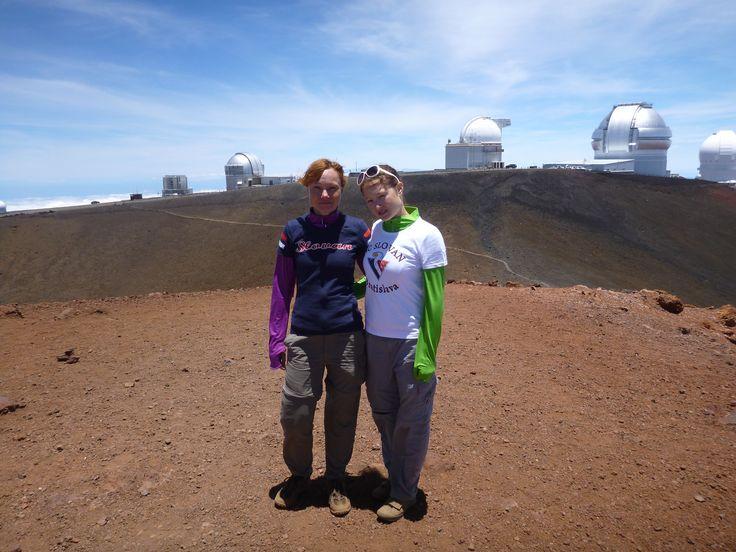 Jana a Lenka na Mauna Kea (4205mnm) - The Big Island, Hawai