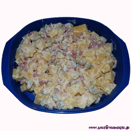 Low Carb Kartoffelsalat unser Rezept für einen guten Low Carb Ersatz für Kartoffelsalat glutenfrei
