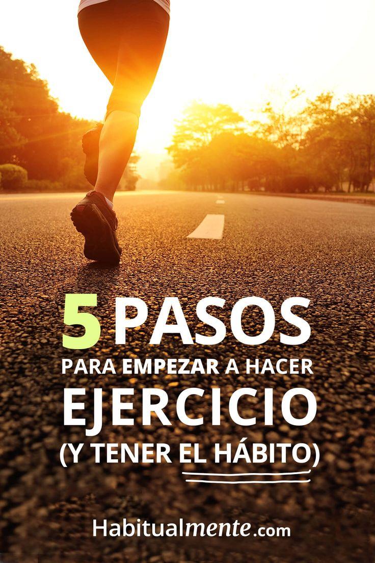 Los 5 pasos para empezar a hacer ejercicio (y tener el hábito) sin fallar en el intento