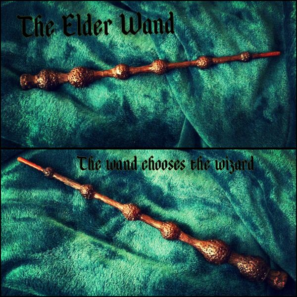 17 best images about wand on pinterest ravenclaw harry for Elder wand display