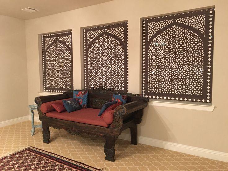 Delia Shades Moorish Arch Pattern Seen At Night Get A Free Estimate