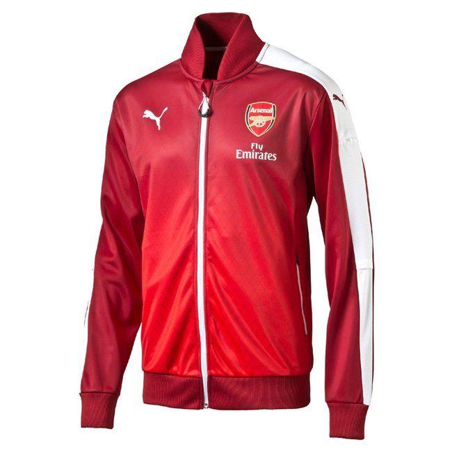 PUMA Arsenal FC Stadium Jacket pánská sportovní bunda