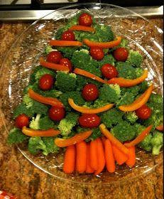 Creative Party Ideas by Cheryl: Healthy Christmas Appetizer Idea