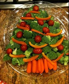 Creative Party Ideas by Cheryl: Healthy Christmas Appetizer Idea