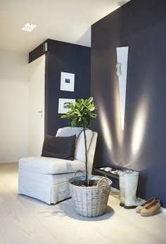 grey feature wall - Google Search