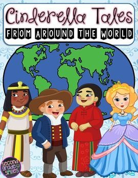 Did you know there are thousands of unique Cinderella stories told throughout the world? If you study the continents in your social studies curriculum, this is a great way to connect content areas. My students loved finding each country on the map and naming its continent before reading the corresponding fairy tale!