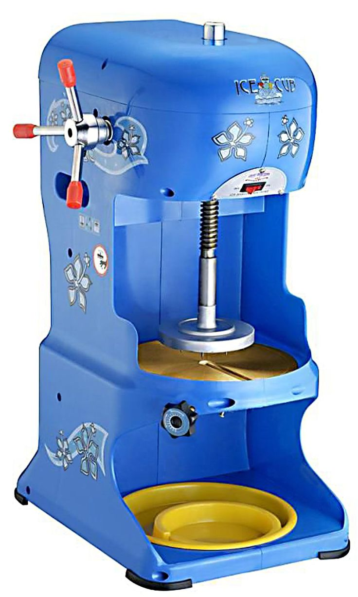 Great Northern Popcorn Ice Cube Shaved Ice Machine, Blue