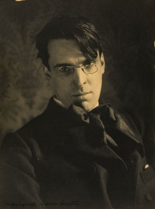 William Butler Yeats, by Alice Boughton