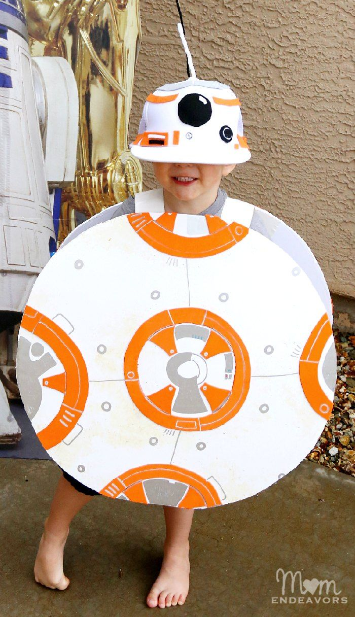 DIY BB-8 Costume