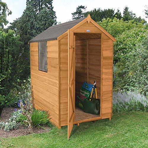 Forest Garden ODA46HD 6 x 4 ft Shed - Brown