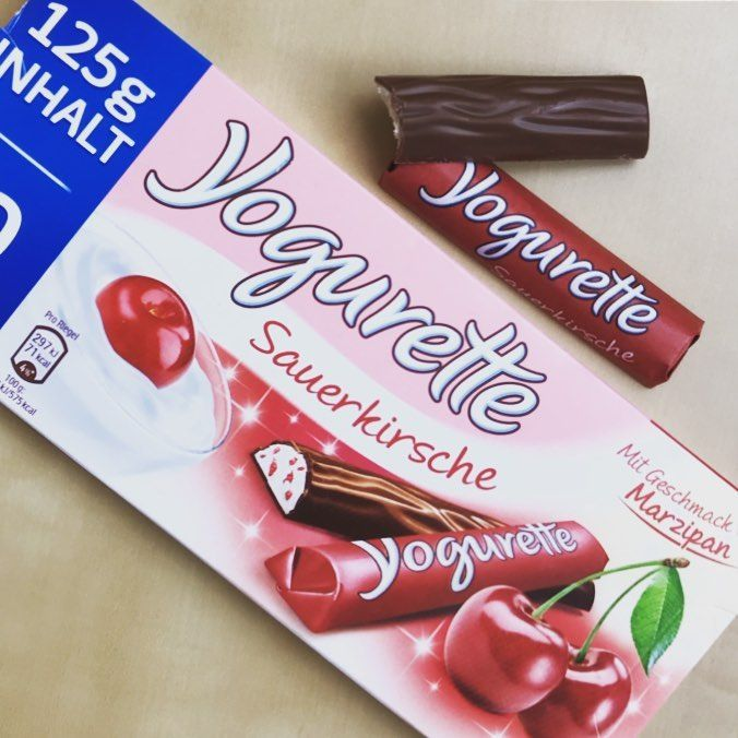 Yogurette Sauerkirsche Mit Marzipan Geschmack Die Grosste Herausforderung Ist Fur Mich Immer Yogurette Richtig Zu Schreiben In Dieser Viel Hair Straightener