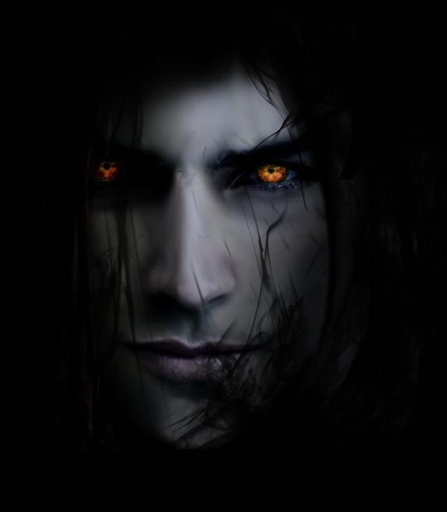 The 25 best male vampire ideas on pinterest vampire art - Scary yellow eyes ...
