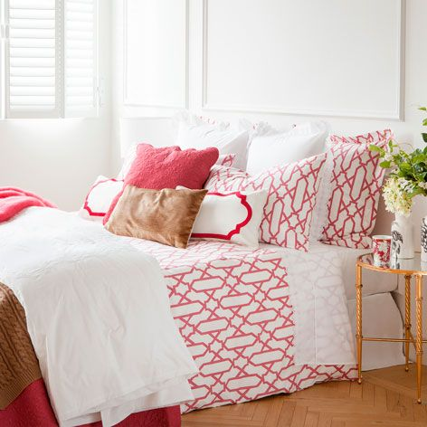 RASPBERRY PERCALE BED LINEN - Last week - New Arrivals | Zara Home United Kingdom