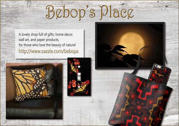Explore Bebop's shop! There is an array of lovely products, inspired by the beauty of nature.