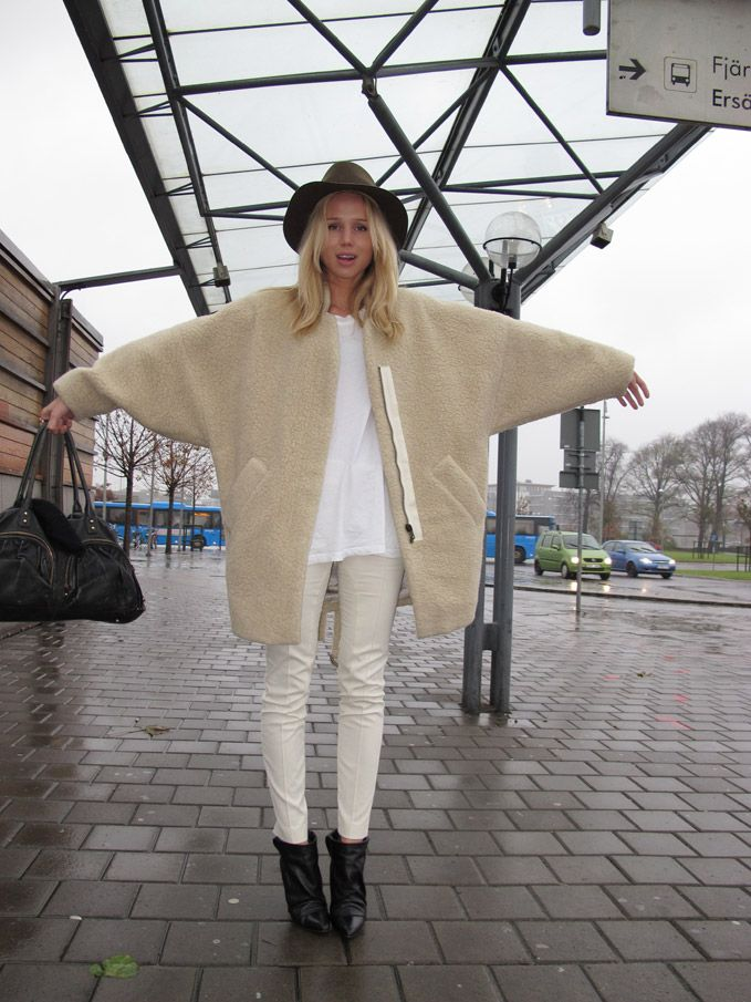 brilliant shearling #ElinKling. Stockholm.
