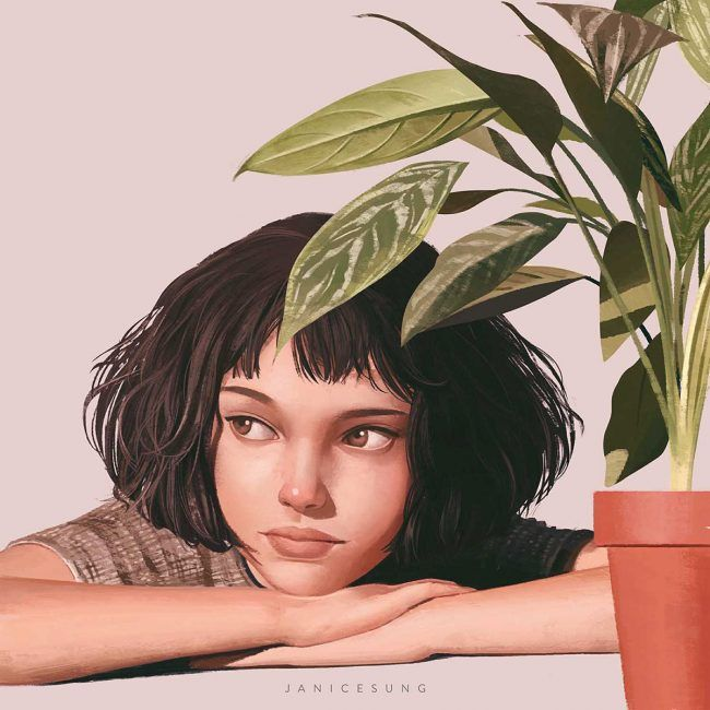 Inspiring Beautiful Illustrated Portraits By Janice Sung – Tuba Cülfe