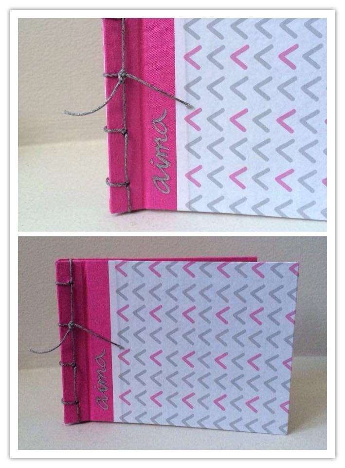 NOTEBOOK rosa primavera personalizada para Aima