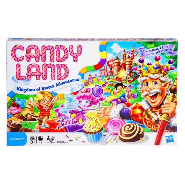 Candy Land - The Kingdom of Sweets Board Game Play Play Fun Classic #Hasbro