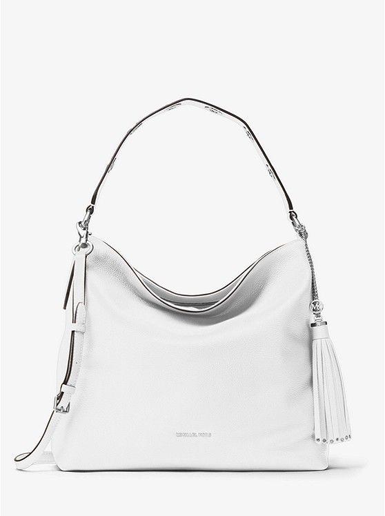 3dd1358b60 Brooklyn Large Leather Shoulder Bag