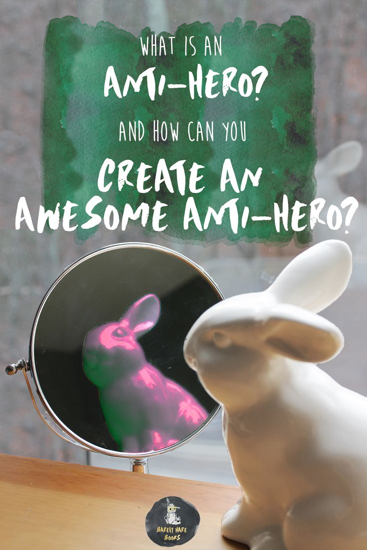 What is an anti-hero? What makes for an awesome anti-hero? And what characters today embody true anti-heroism? This and more is answered in the latest post on the blog! www.barelyharebooks.com