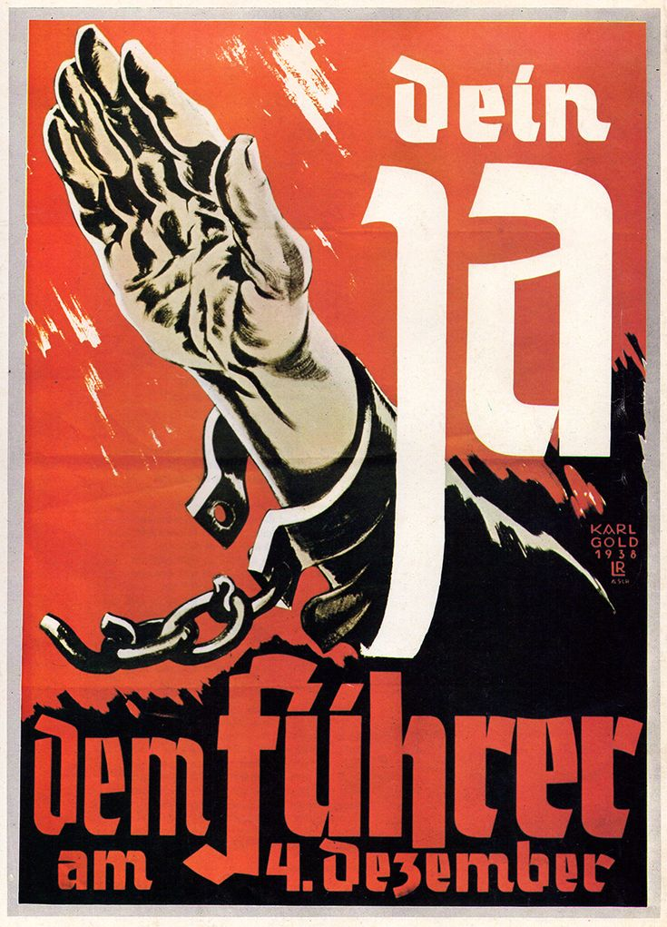 Cartel de propaganda Alemán - German propaganda poster - Segunda guerra mundial - Second World War - WWII