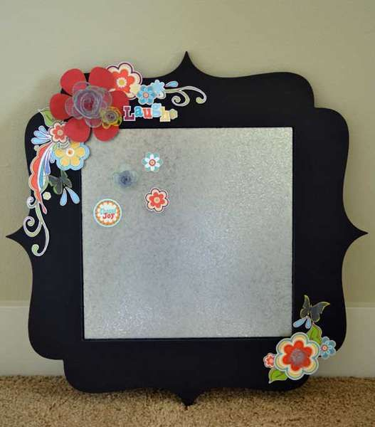embellished frame or mirrorFrames Magnets, Crafts Ideas, Magnets Boards, Adornit Projects, Embellishments Frames, Frames Ideas, Magnets Crafts, Mirrors Crafts, Crafty Ideas