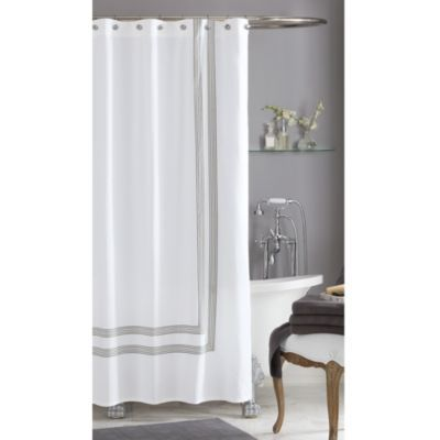 I do have expensive taste, haha. | Wamsutta Bourbon Hotel Shower Curtain for $49.99