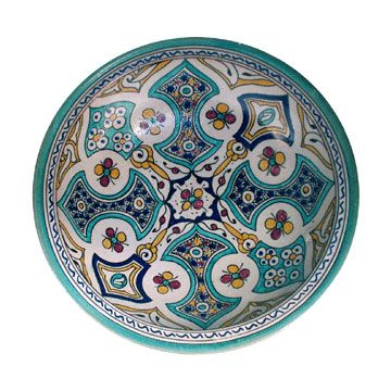It would also be fun to have a set of Moroccan plates.