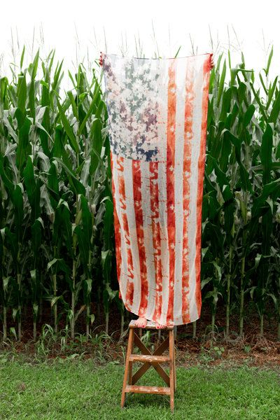 American Flag Photo  Fine Art Photography by Kim Fearheiley Photography