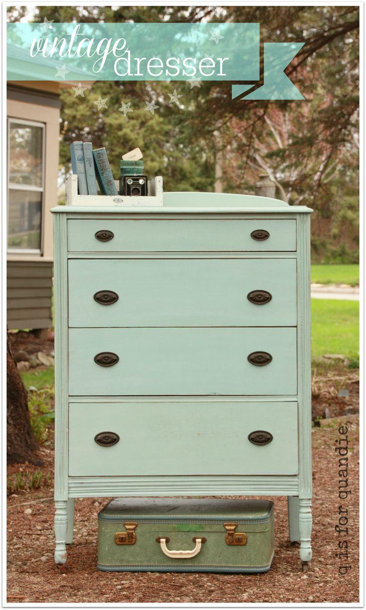 Lovely Best 25+ Vintage Dressers Ideas On Pinterest   Mint Furniture, Mint Green  Dresser And Mint Green Furniture