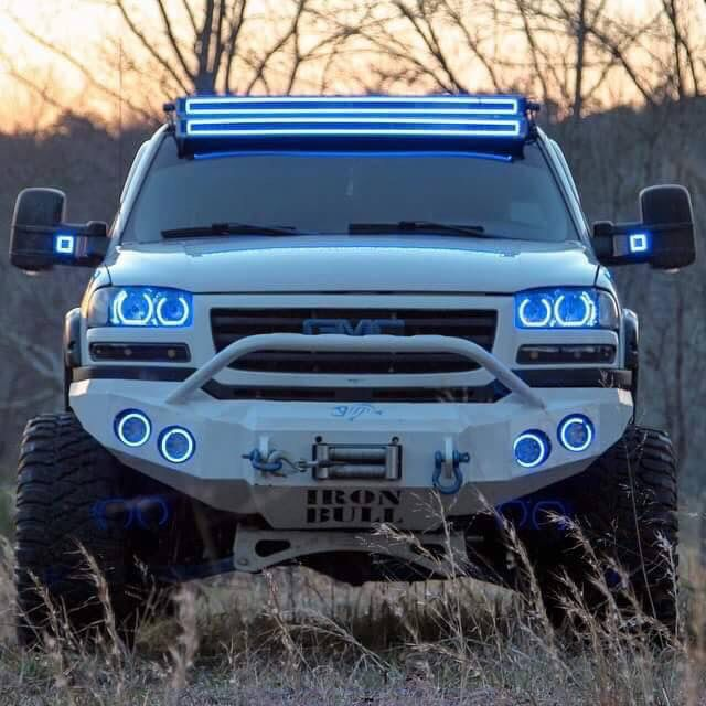 White Lifted GMC Sierra | Vehicles | Pinterest
